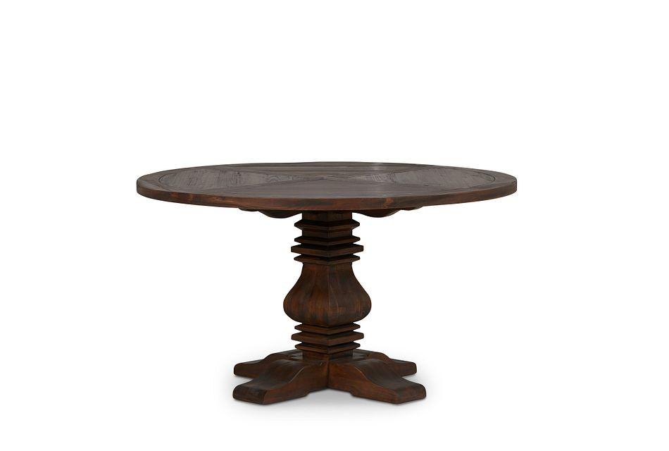 """Hadlow Mid Tone 54"""" Round Table"""