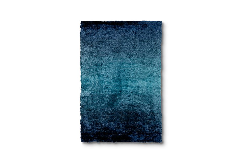 Ombre Blue 5x8 Area Rug