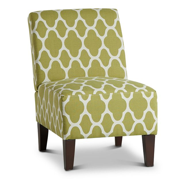 Comet Light Green Fabric Accent Chair (0)