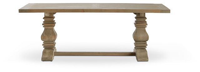 "Hadlow Gray 84"" Rectangular Table (1)"