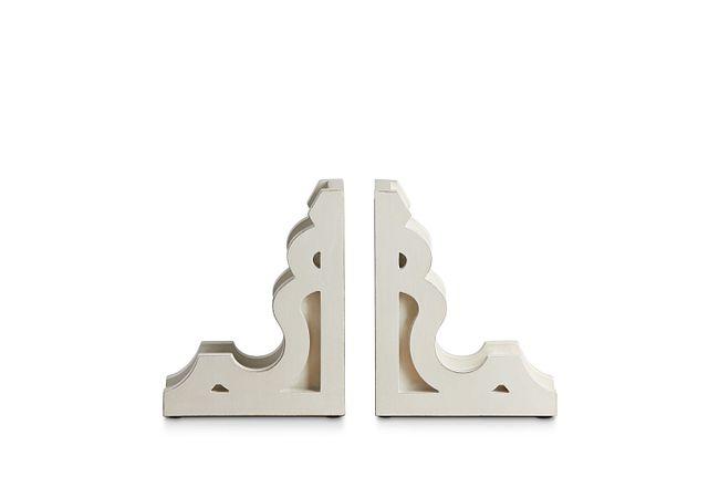 Corbel Wood Set Of 2 Bookends