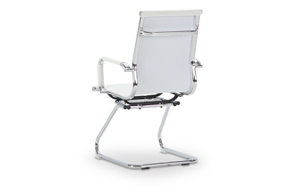 Houston White Desk Chair