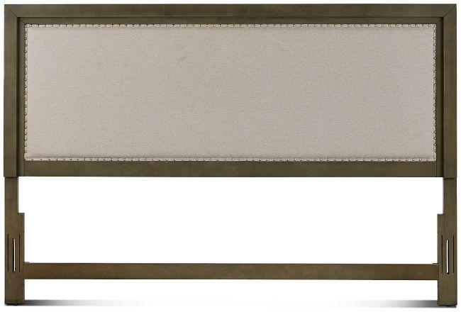 Omaha Gray Uph Panel Headboard