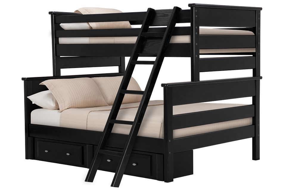 Laguna Black  Storage Bunk Bed