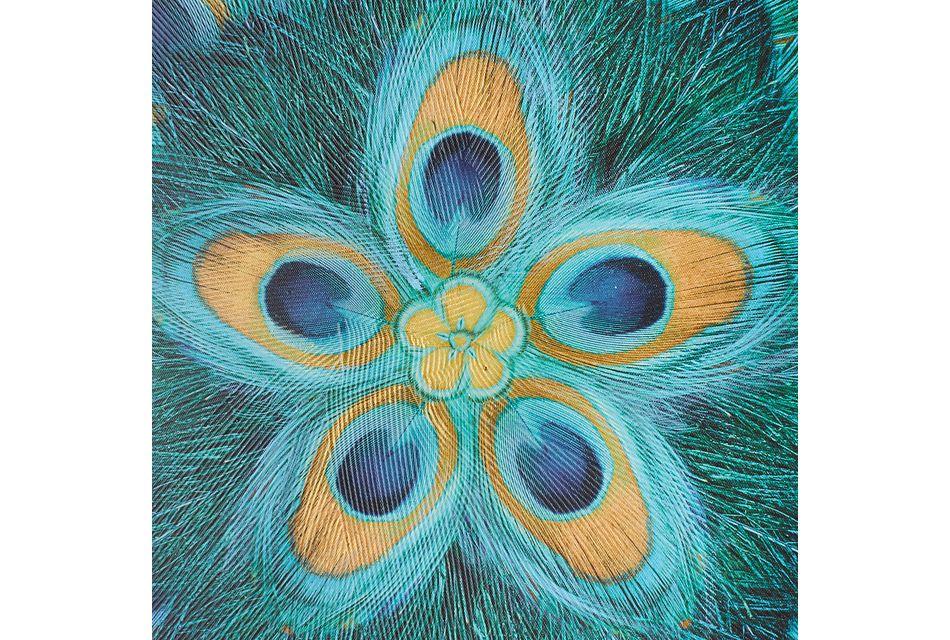 Carmen Blue Canvas Wall Art