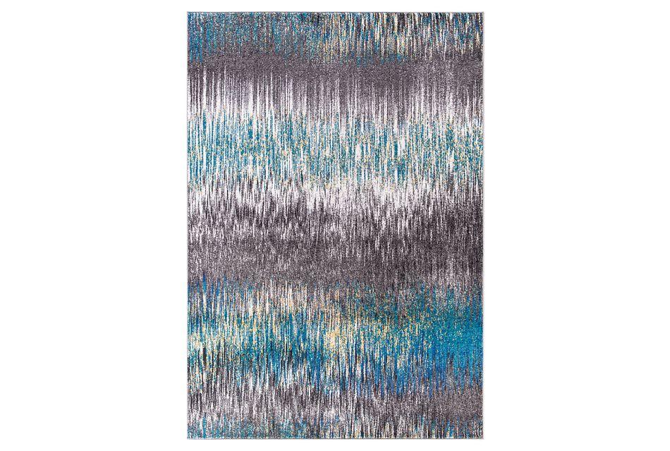 Unique Multicolored 8x10 Area Rug