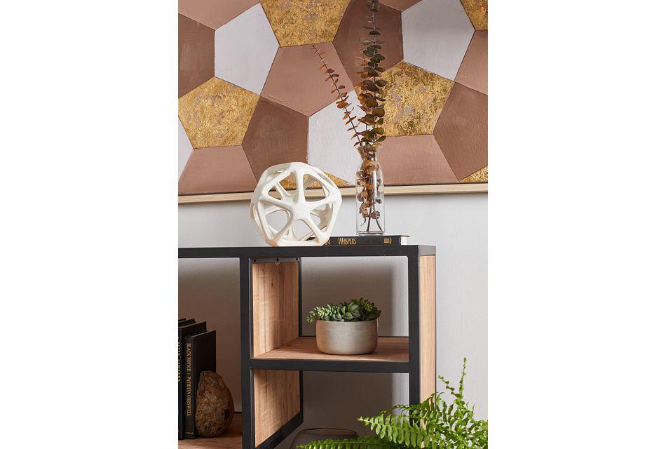 Nova Gold Framed Wall Art