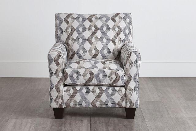 Myra Multicolored Fabric Accent Chair (0)