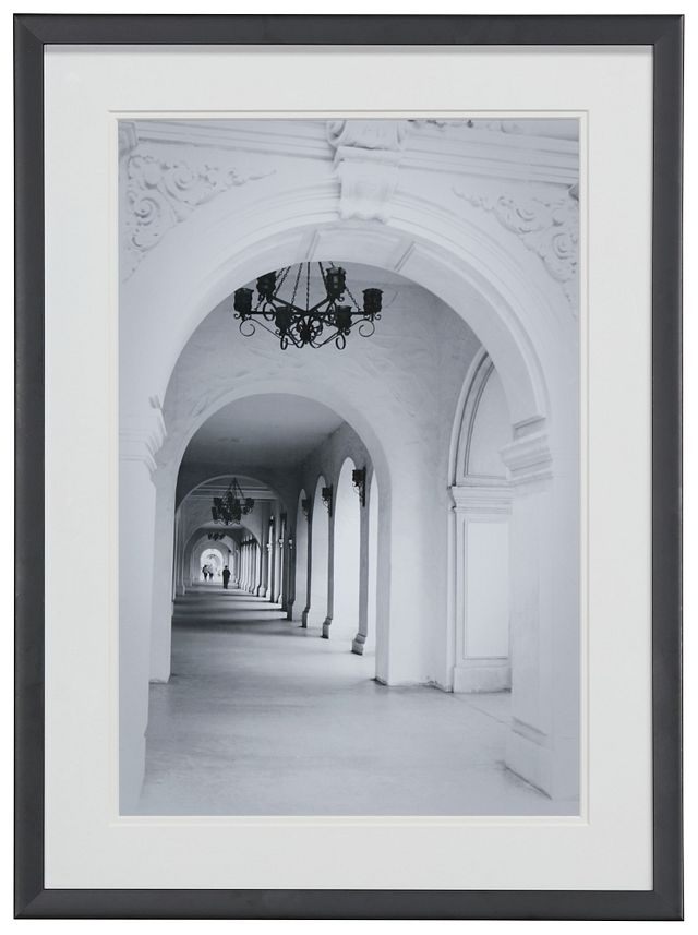 Atrium Gray Framed Wall Art (0)