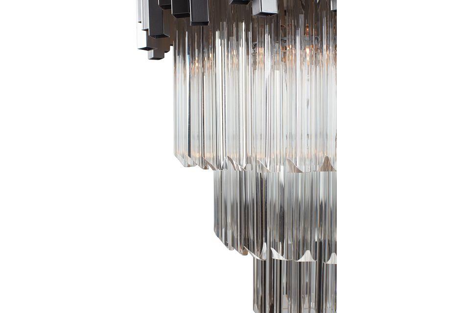 Aurora Silver Chandelier