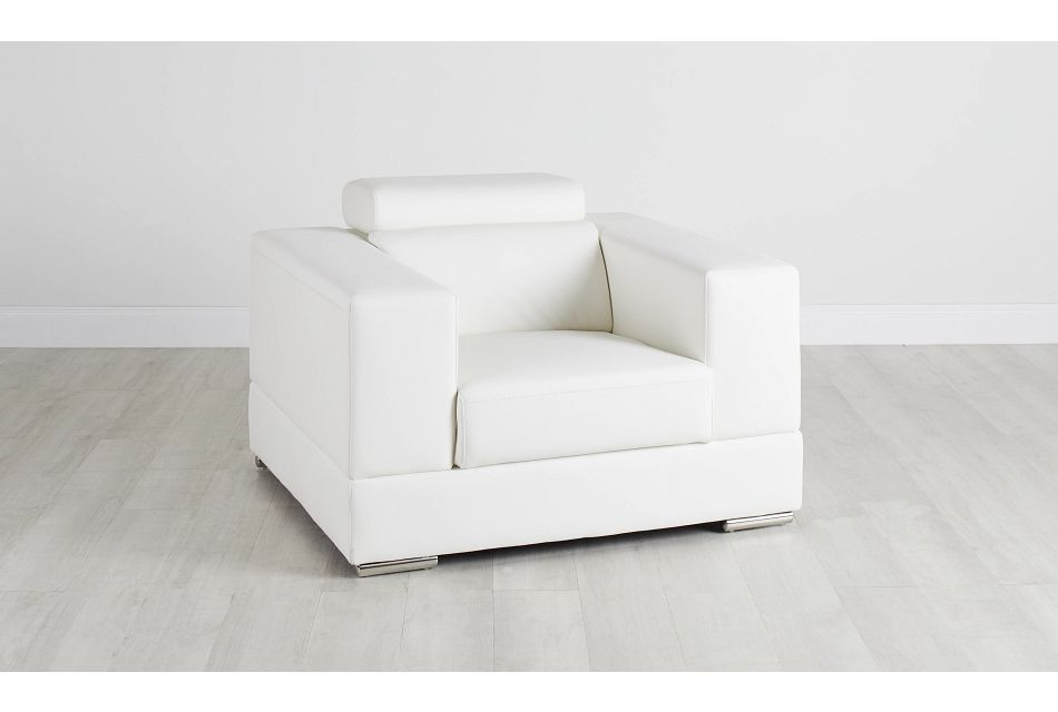 Maxwell White Micro Chair,  (0)