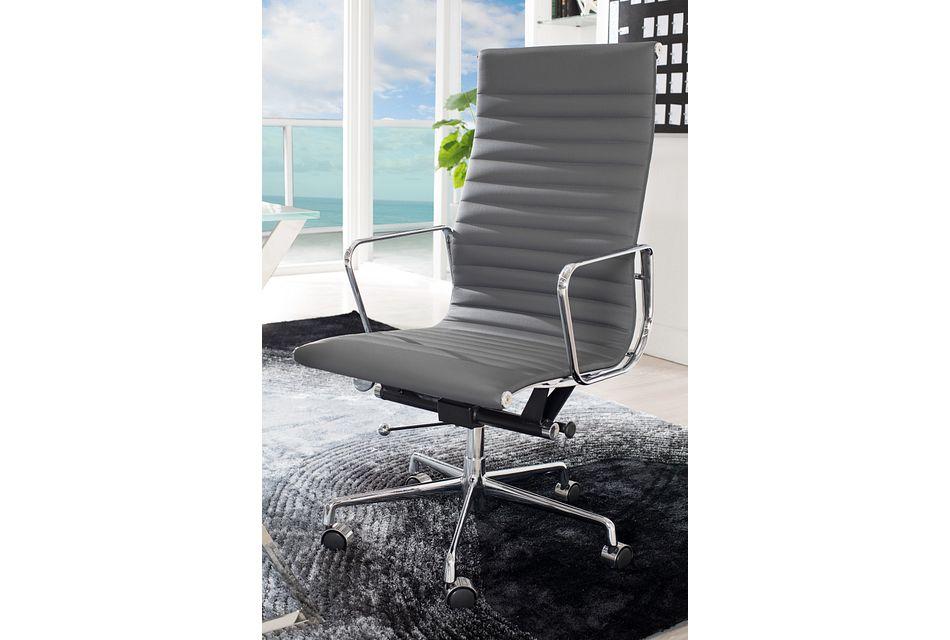Amos Gray Desk Chair