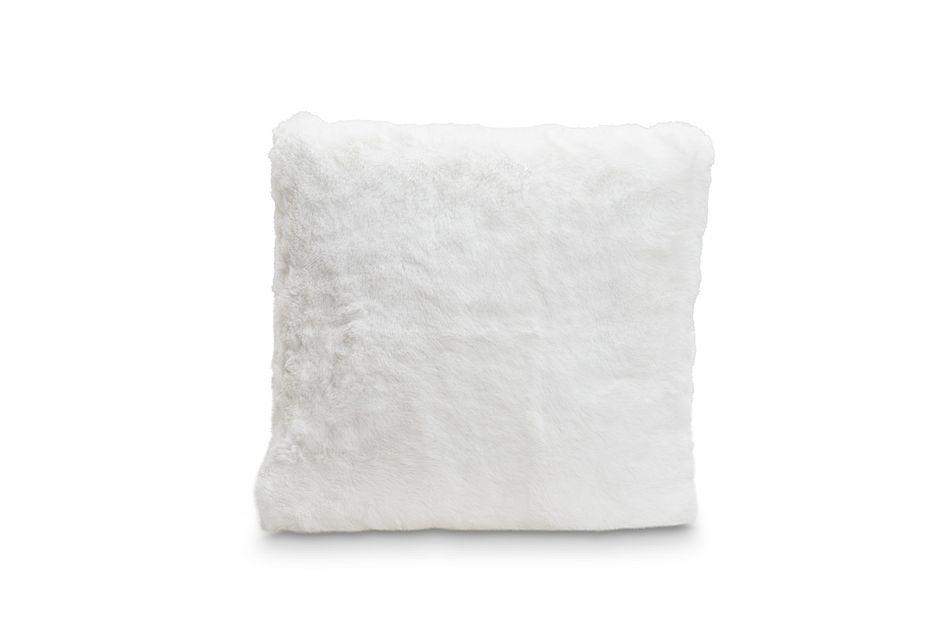 "Kaycee White 18"" Accent Pillow"