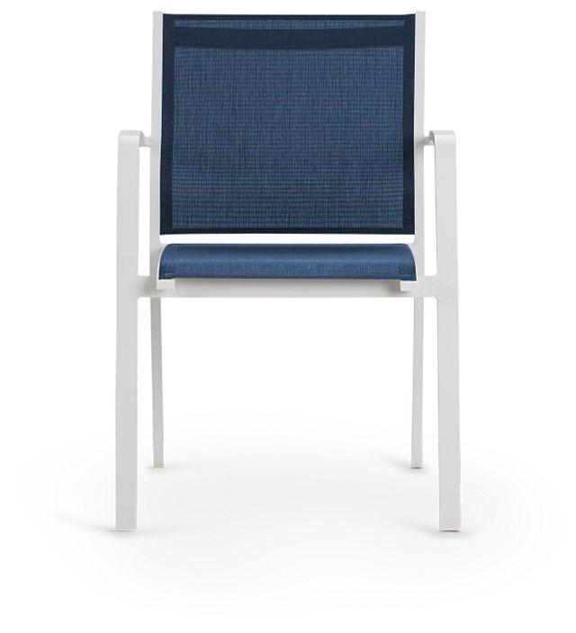 Lisbon Navy Sling Chair (3)