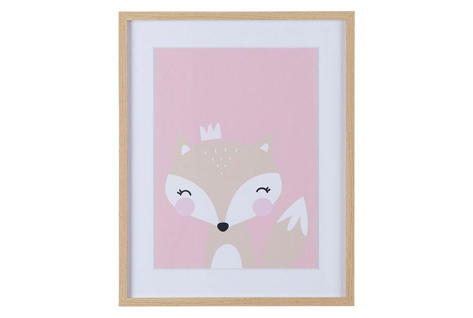 Myla Pink Framed Wall Art