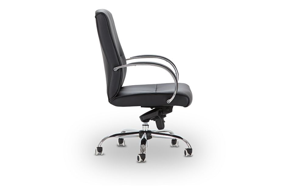 Greeley Black Uph Desk Chair, %%bed_Size%% (2)