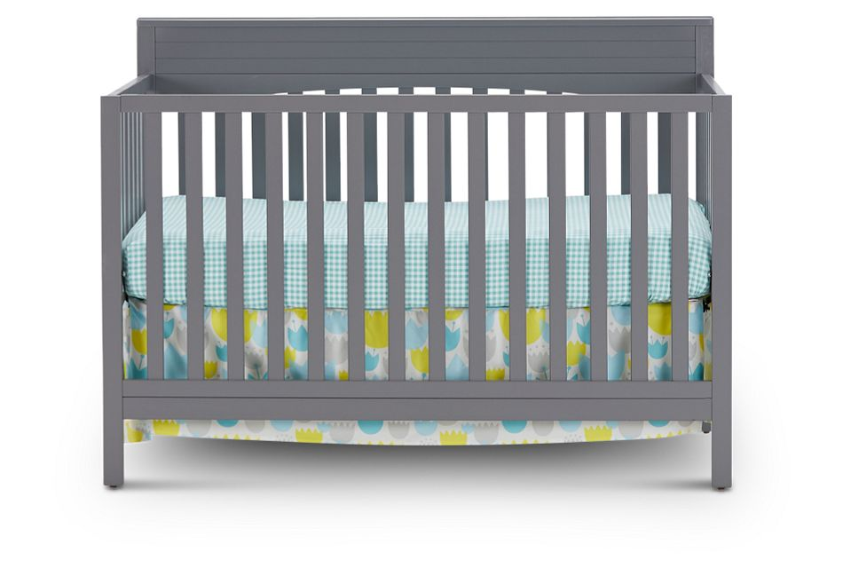 Parker Gray 4-In-1 Crib, %%bed_Size%% (3)