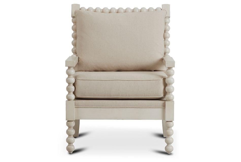 Savannah Ivory Accent Chair,  (3)