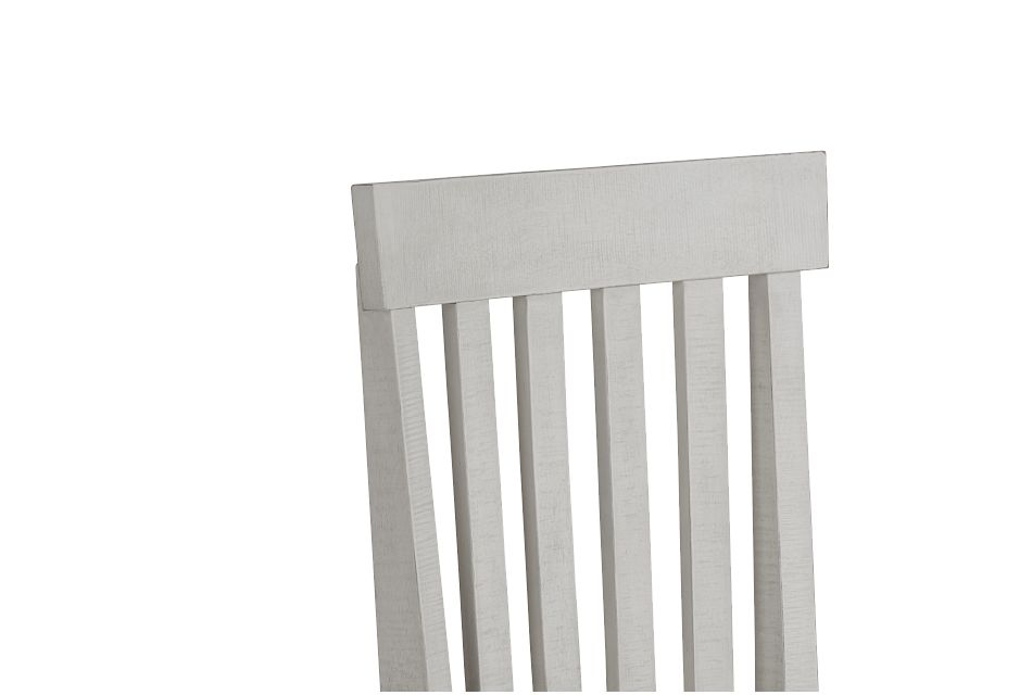 Sonoma Ivory Wood Side Chair