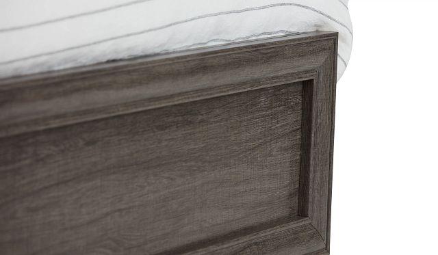Colson Light Tone Panel Bed