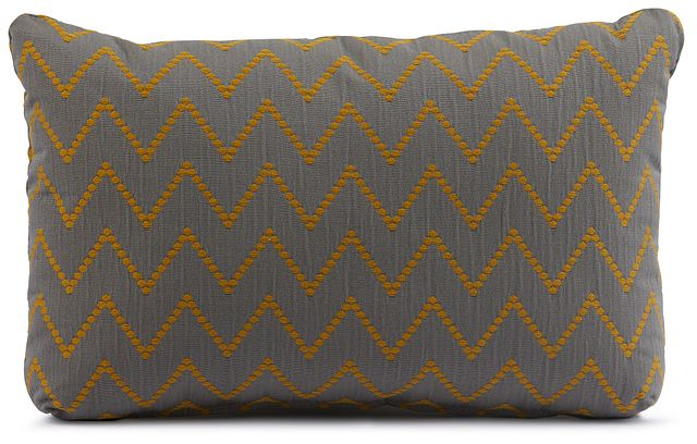 Lulu Gray Lumbar Accent Pillow (0)