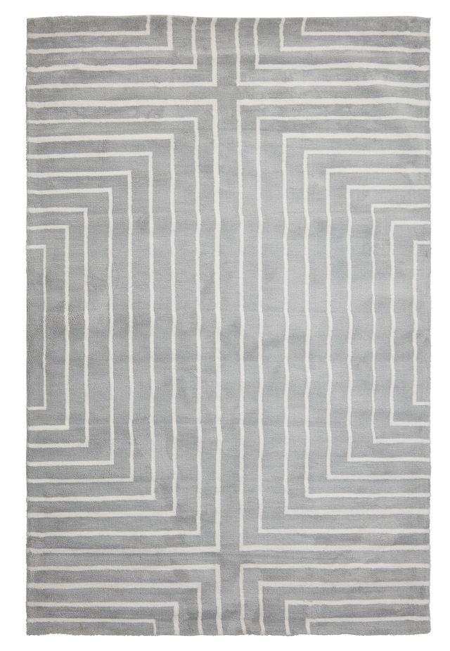 Linea Gray 5x8 Area Rug (0)