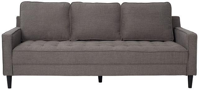 "Eli 80"" Gray Micro Sofa (0)"