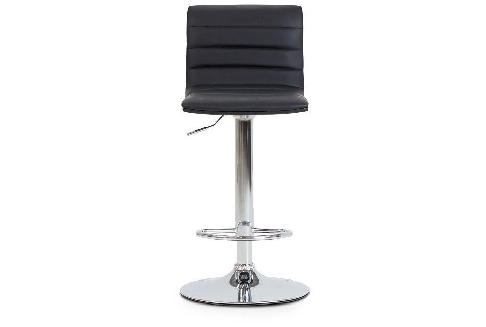 Motivo Black Uph Adjustable Stool,