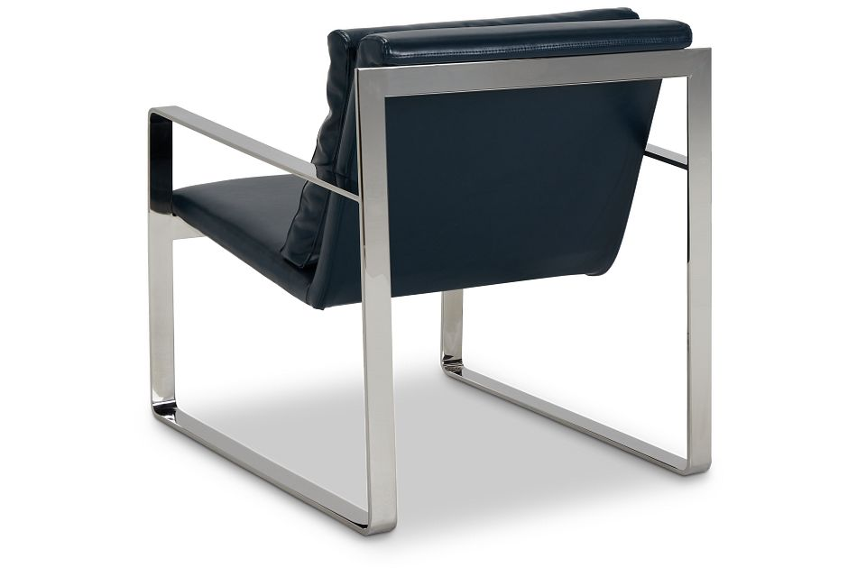 Roslin Blue Uph Accent Chair