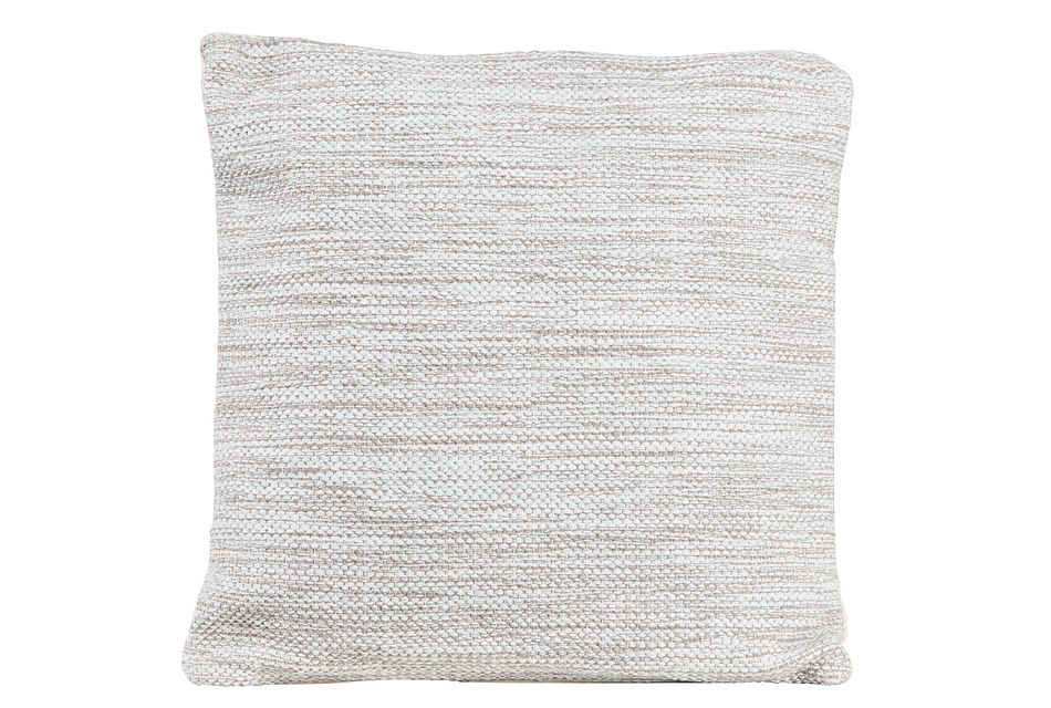 Alena Light Gray Accent Pillow