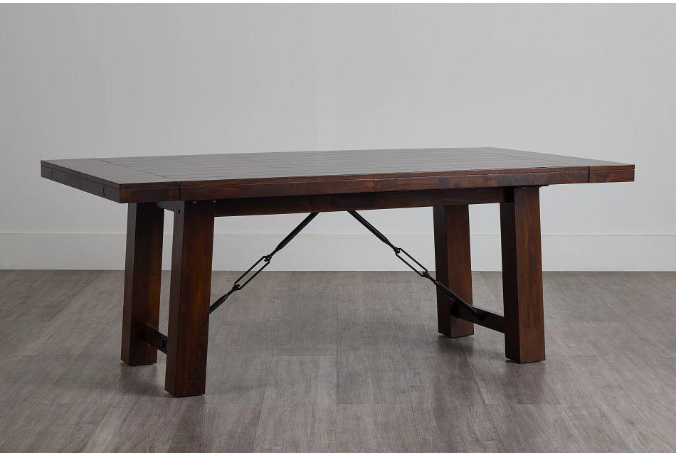 Napa Dark Tone Rectangular Table,  (0)