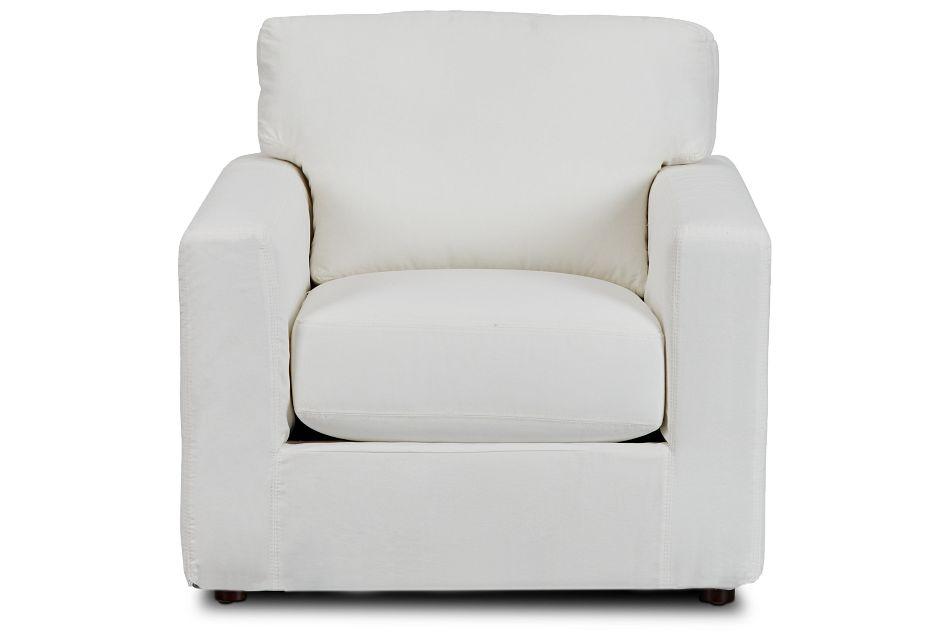 Poppy Light Beige Fabric Chair,  (3)