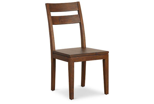 Chicago Dark Tone Wood Side Chair