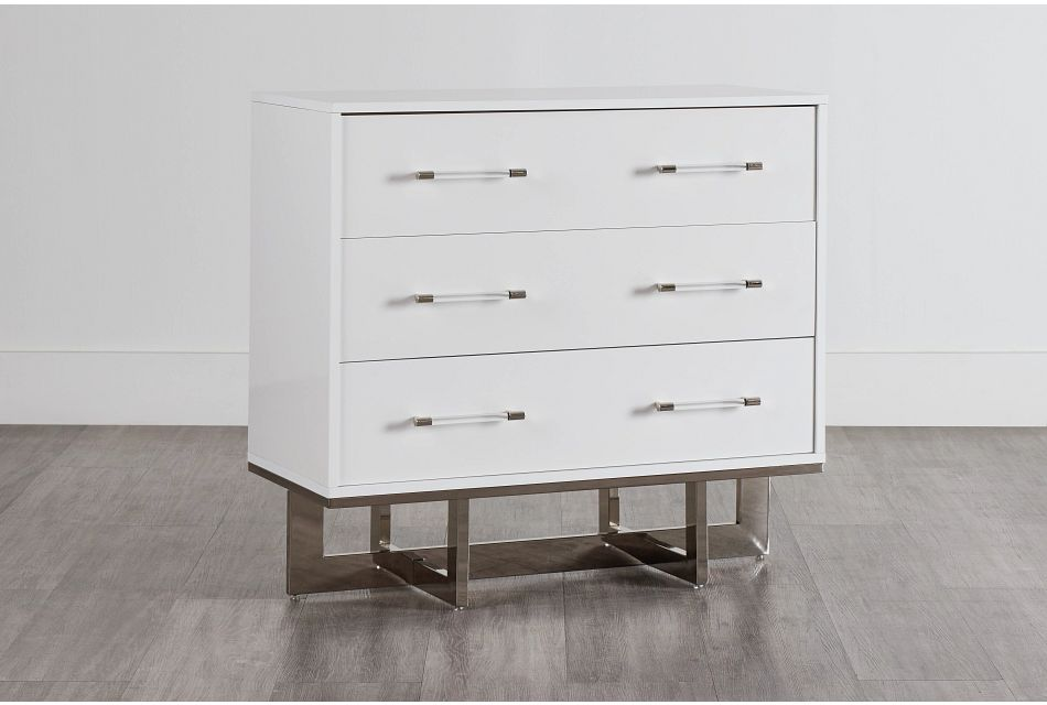 Cortina White Small Drawer Chest, One/size (0)