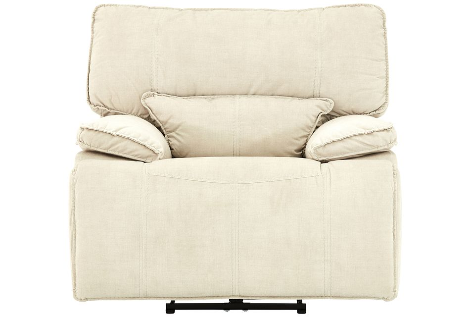 Jesse Light Beige Micro Power Recliner