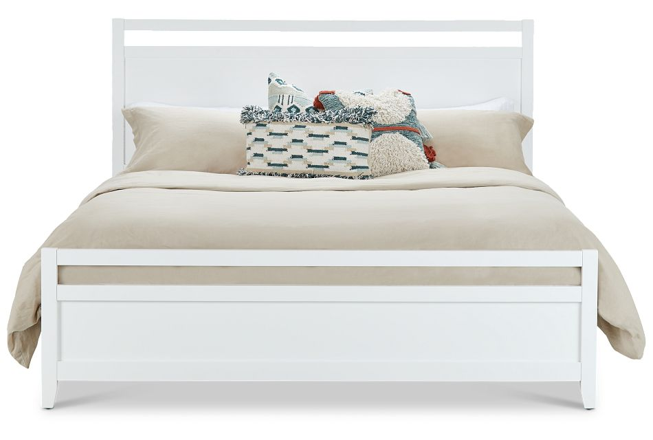 Chatham White Panel Bed