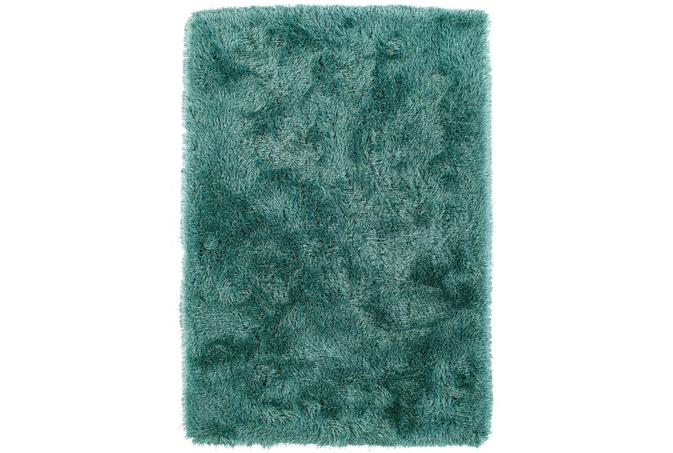Impact Teal 5x8 Area Rug