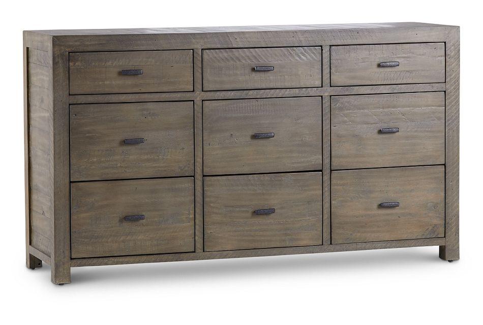 Seattle Gray Large Dresser