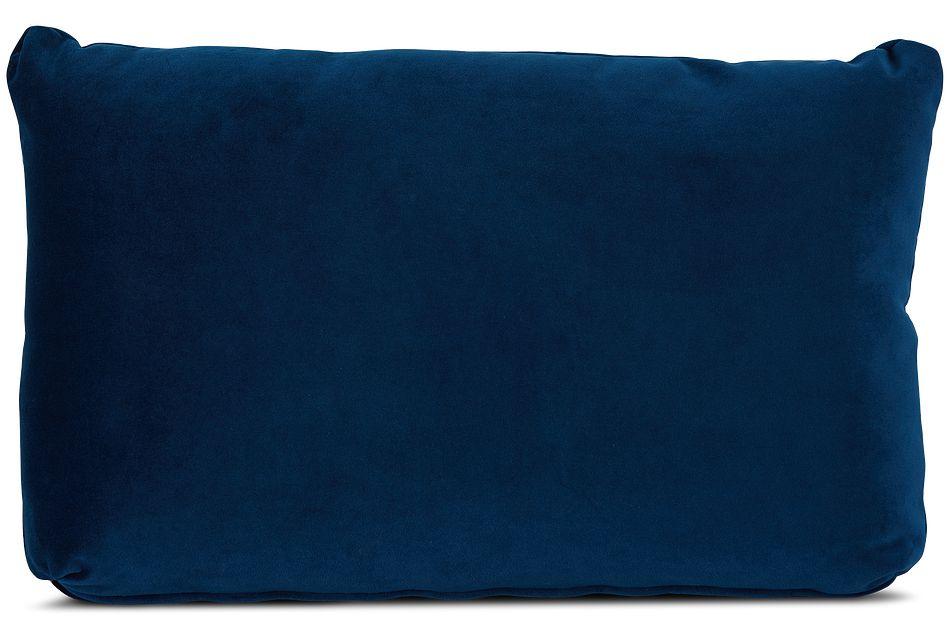 Royale Blue Lumbar Accent Pillow