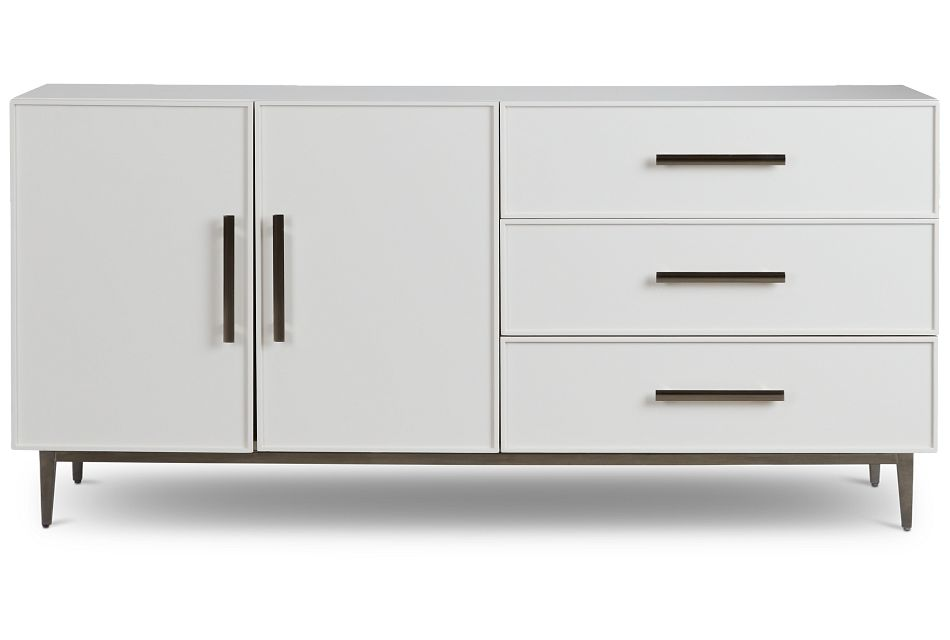 Lane White Dresser,  (1)