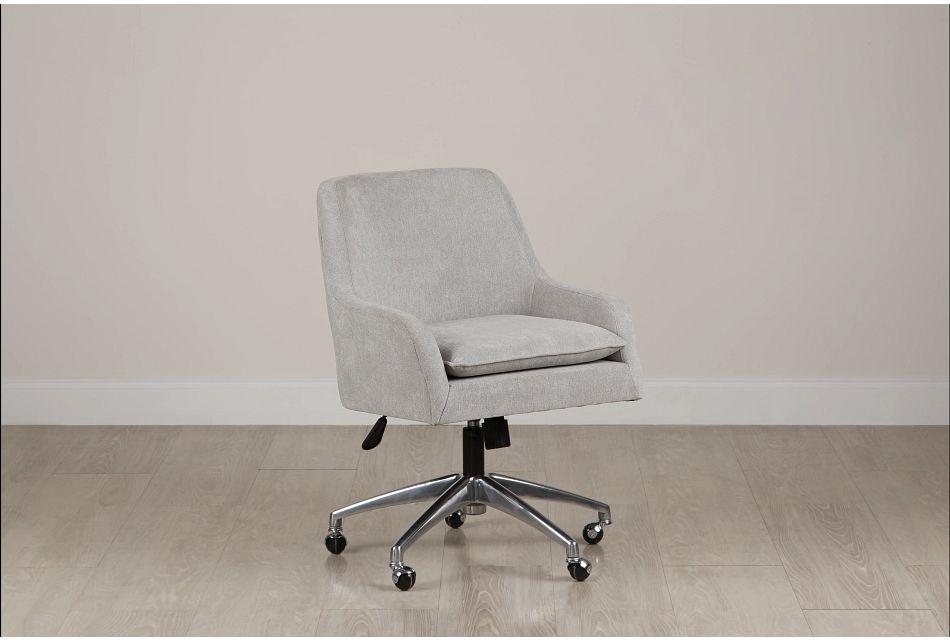 Highline Dark Gray Upholstered Desk Chair