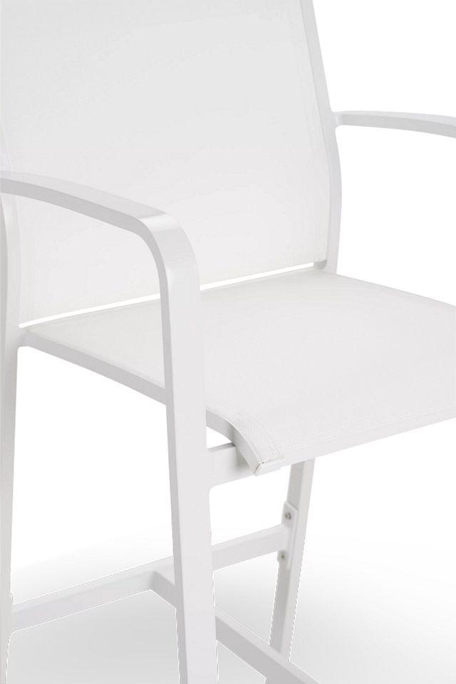 """Lisbon White 30"""" Barstool (0)"""
