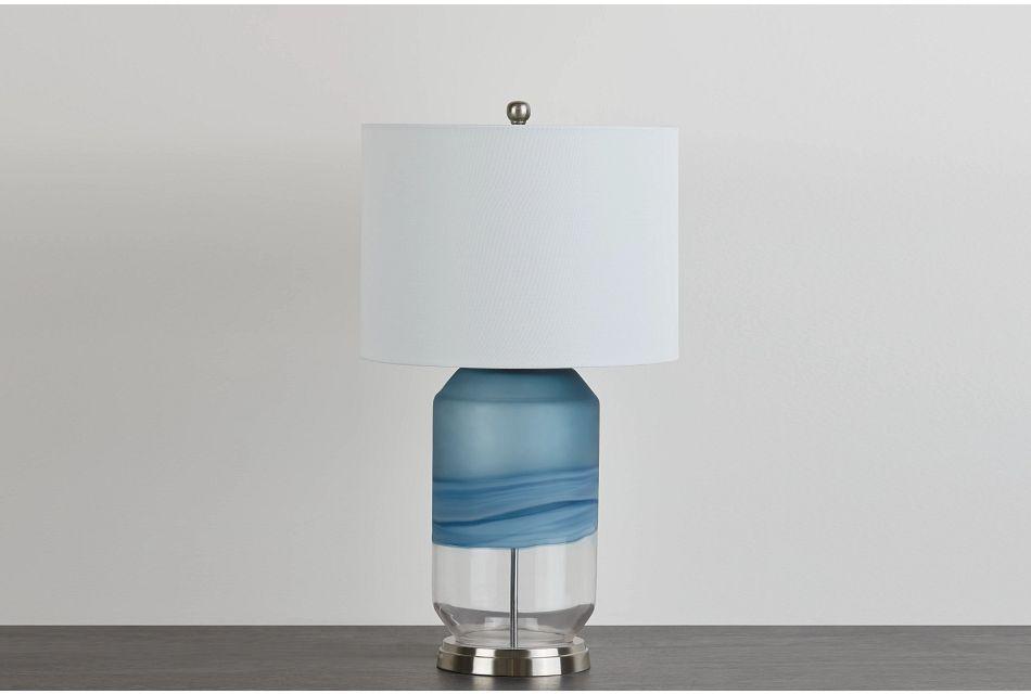 Aldo Blue Table Lamp