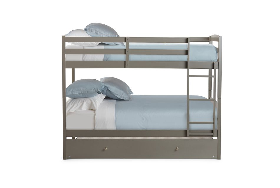 Marley Gray Trundle Bunk Bed