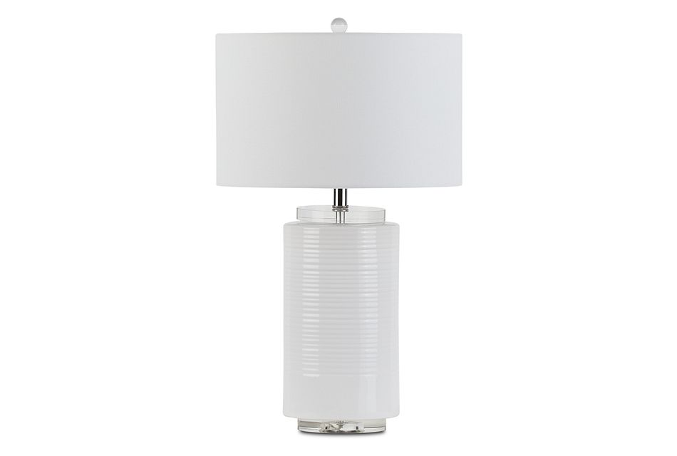Marzia White Table Lamp