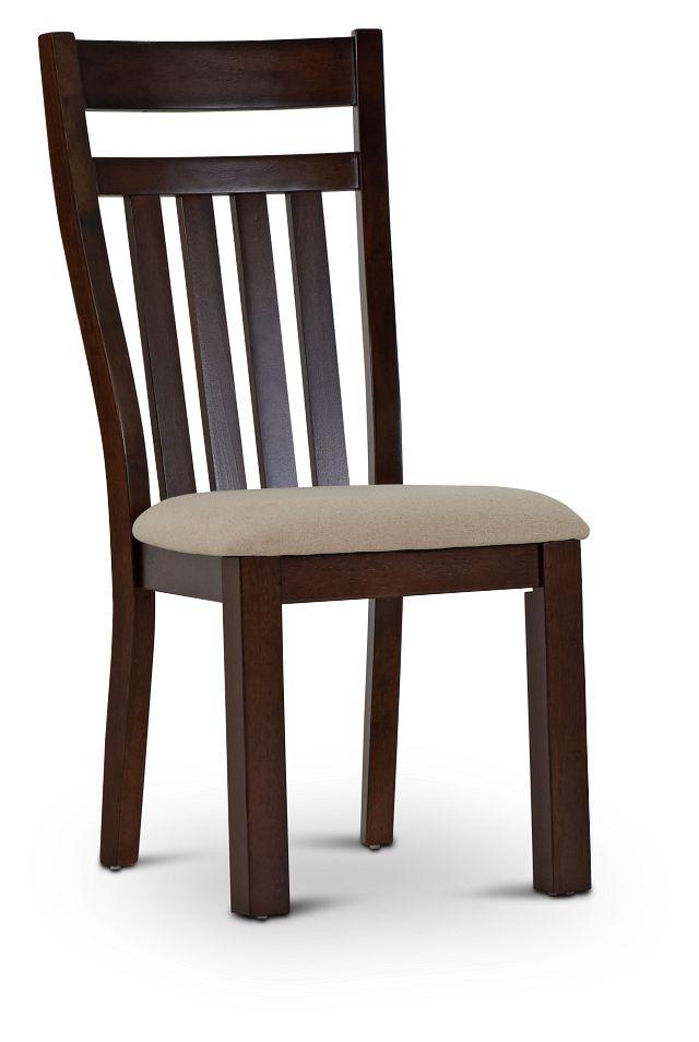 Napa Dark Tone Wood Side Chair (1)