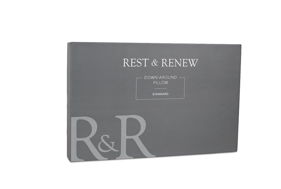 Rest & Renew Down Around Stomach Sleeper Pillow