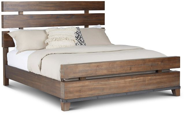Forge Dark Tone Panel Bed (2)