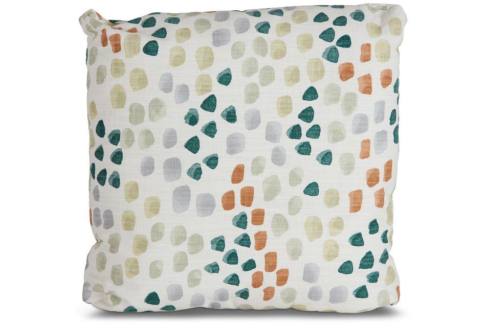 """Pfeiffer Green Fabric 18"""" Accent Pillow,  (0)"""