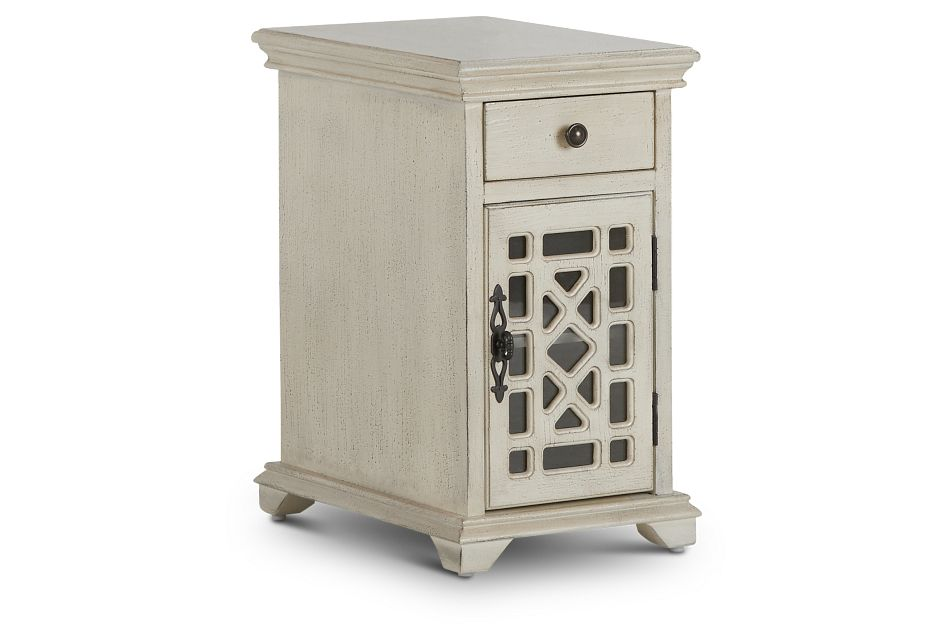 Alexis Ivory Small Cabinet,  (2)